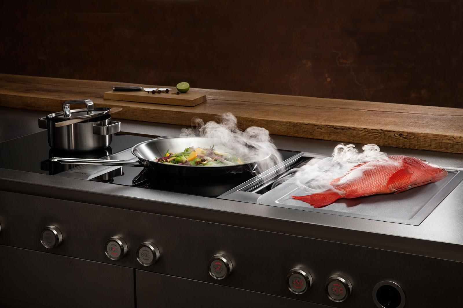 cucina svago piani cottura bora la rivoluzione in cucina. Black Bedroom Furniture Sets. Home Design Ideas