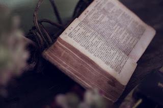 A Bíblia Sagrada aberta