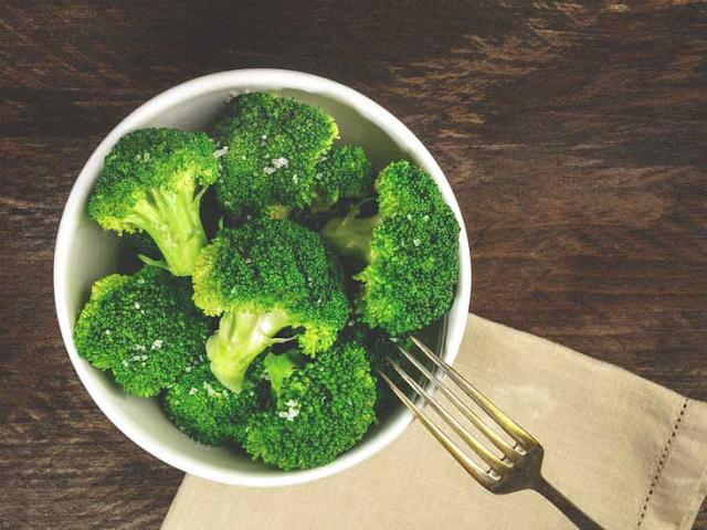 Broccoli and dark, leafy greens