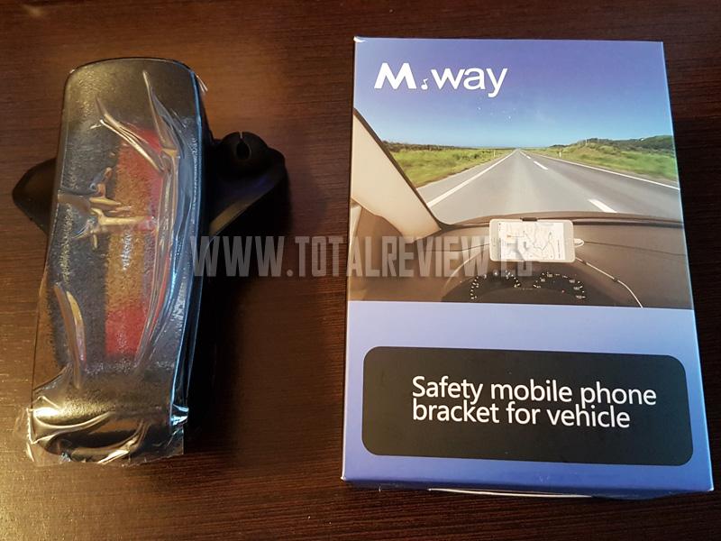 Soporte de teléfono móvil para salpicadero de coche de la marca M.Way