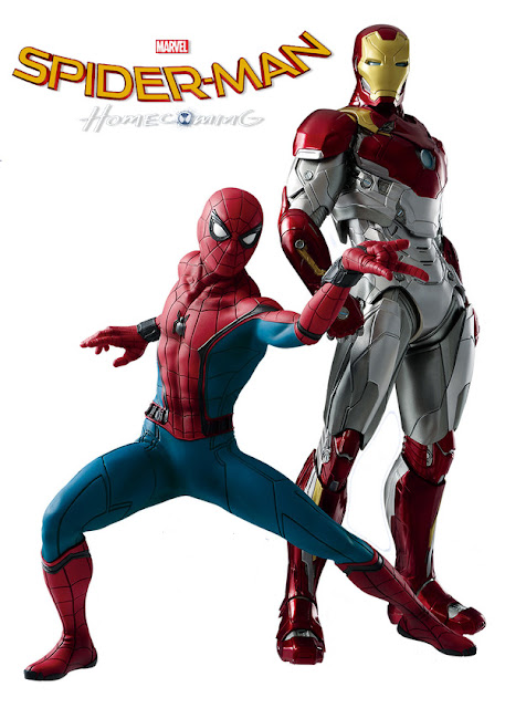 osw.zone Prototype Images of Banpresto Iron Man Mark XLVII and Spider-Man by Spider-Man: Homecoming