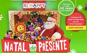 Promoção Natal de Presentes Ri Happy
