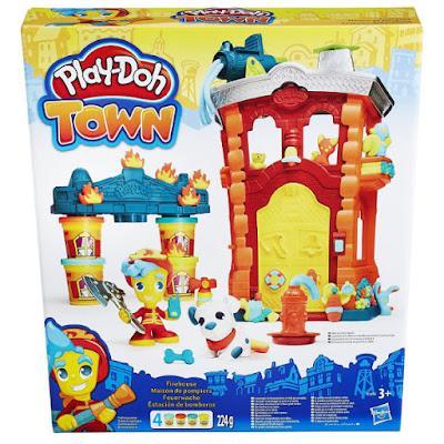 TOYS : JUGUETES - PLAY-DOH : Town  Estación de bomberos | Firehouse  Manualidades - Plastilina  Producto Oficial 2016 | Hasbro B3415 | A partir de 3 años  Comprar en Amazon España & buy Amazon USA