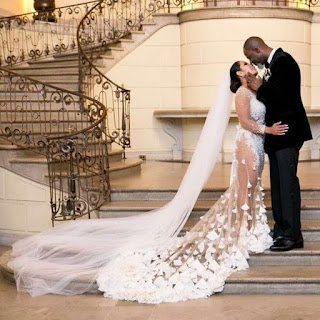 Brian McKnight and Leilani Mendoza wedding