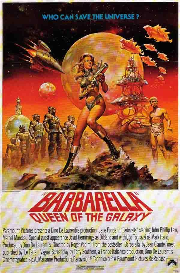 Barbarella 1968 original movie poster