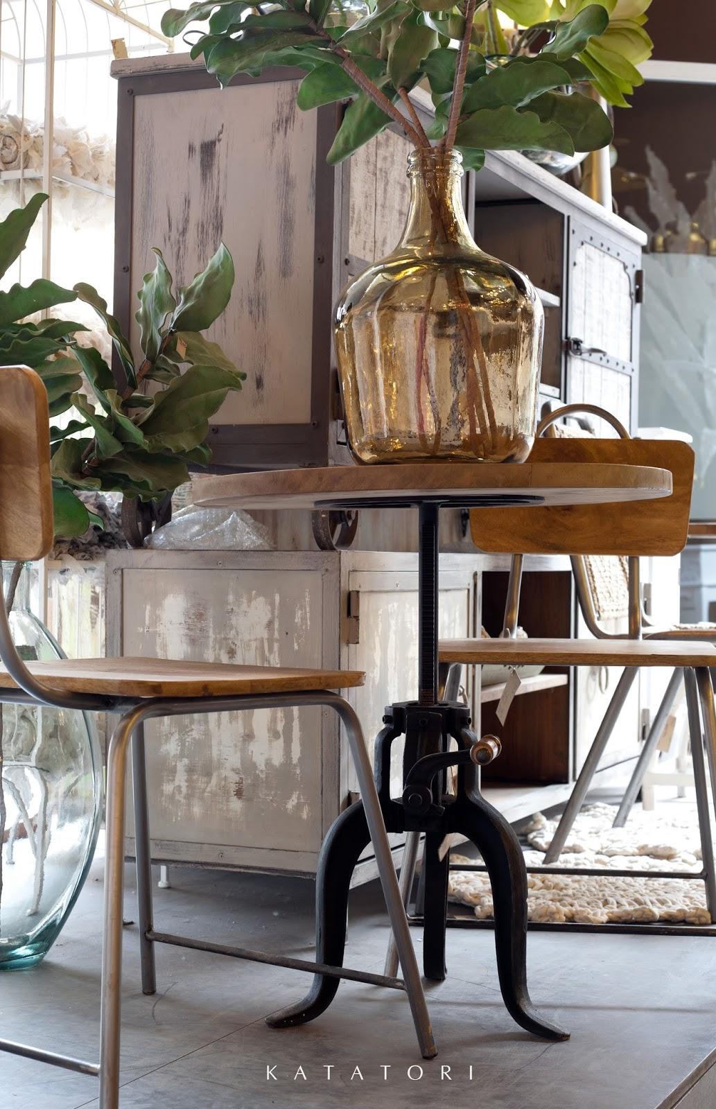 Katatori interiores mobiliario de estilo industrial para - Estilos de mobiliario ...