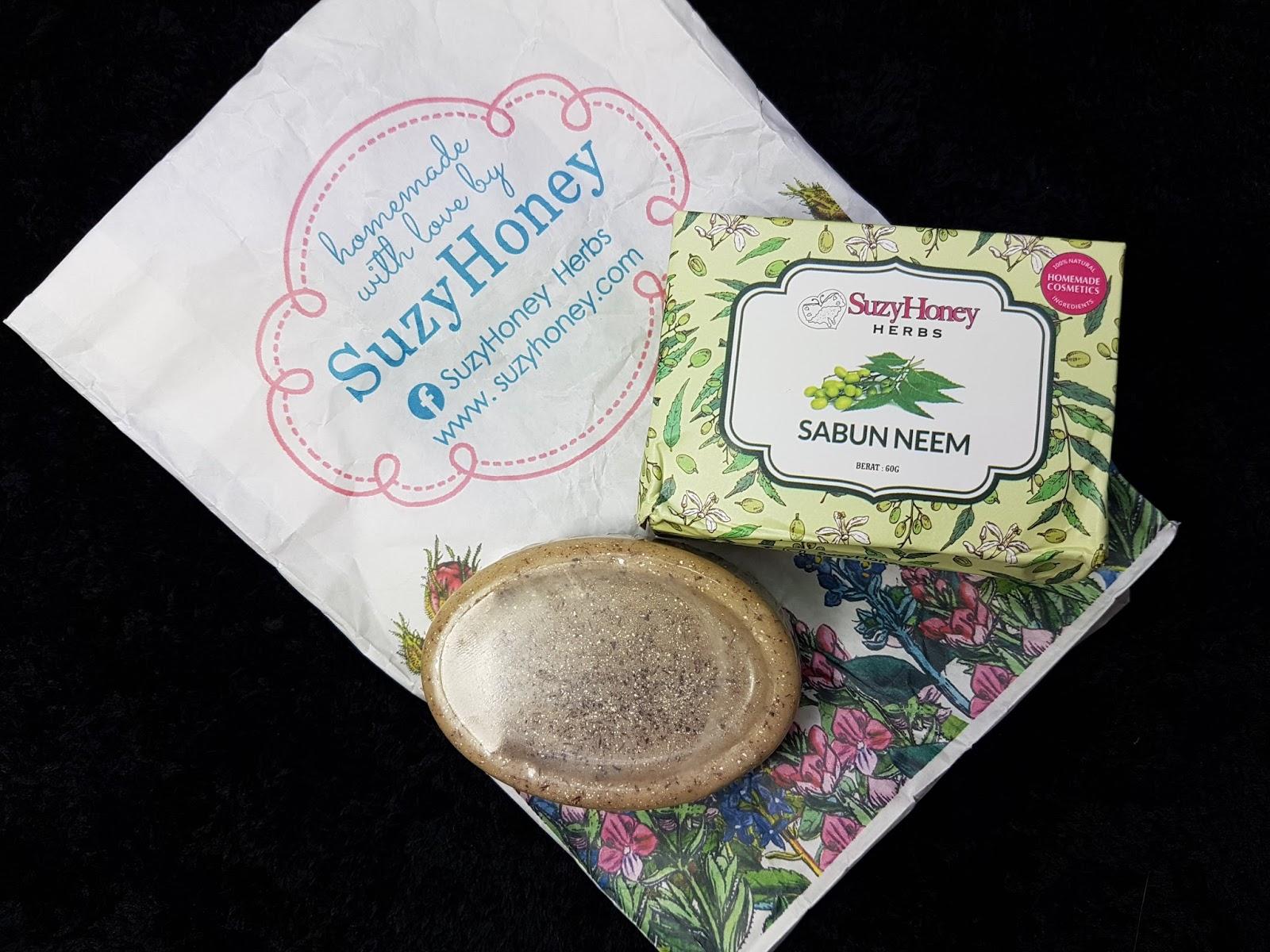 Suzy Honey Herbs Menghasilkan Homemade Cosmetics Dengan 100 Dari Sabun Rose Kecil Herbal Kalau Siapa Yang Tak Tahu Daun Neem Atau Semambu Ini Meh Sikit Orang Kampung Nak Cerita Selalunya Guna Untuk Mandi Masa Demam