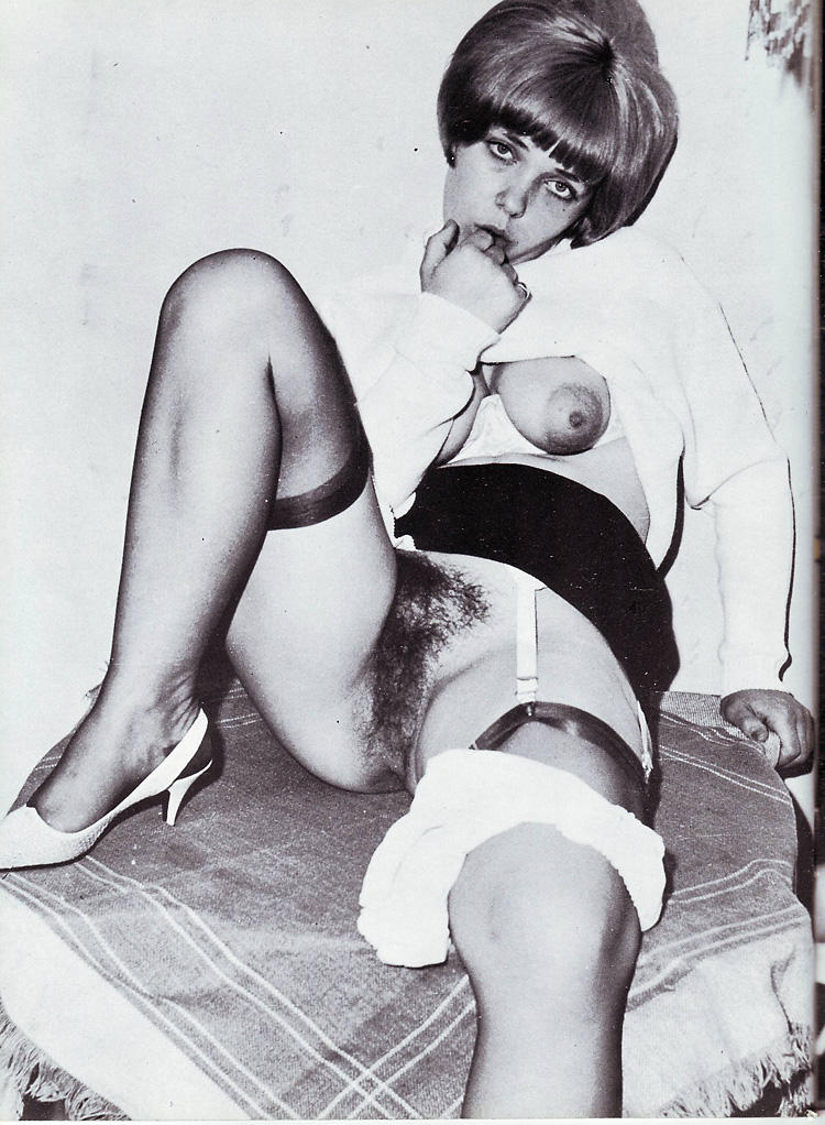 Hairy vintage pictures