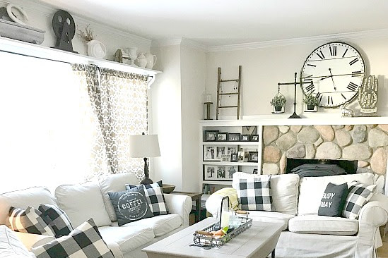 Farmhouse Style Using Pattern and Texture