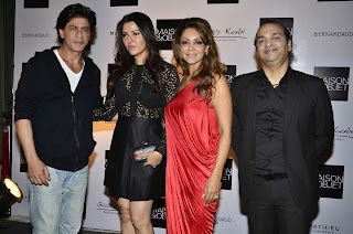Shahrukh Khan & Gauri Khan at The Design Cell preview