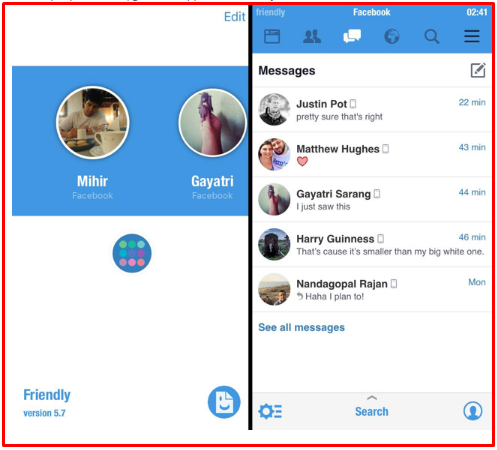 Facebook Messenger App for Mobile and Desktop