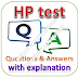 HP Test: Aptitude, Reasoning, Technical, English; Questions and Answers with Explanations PDFs