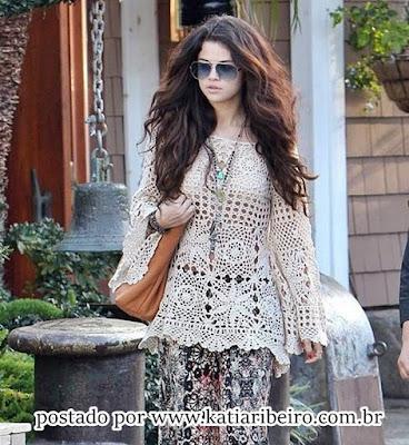 Bata Selena Gomez como fazer