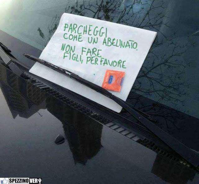 Blog di sara gente che guida ma sarebbe meglio che - Parcheggiano davanti casa cosa si puo fare ...