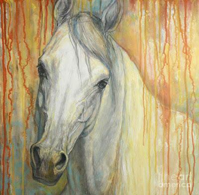 pinturas-de-caballos-blancos-pintados-al-oleo