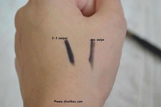 Revlon Kohl Kajal Eyeliner Pencil 011 Black Swatch