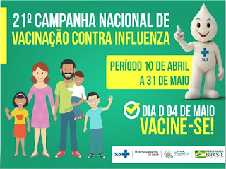 Registro-SP antecipa Campanha de Vacinação contra a Gripe