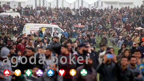 BANDARQ TERBAIK – Protes di Gaza Meluas, Tiga Pemuda Palestina Tewas, 316 Luka