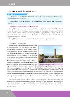 10. Sınıf Tarih Ders Kitabı Cevapları İlke Yayınları Sayfa 18