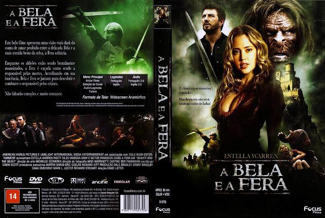 Capa DVD A Bela e a Fera