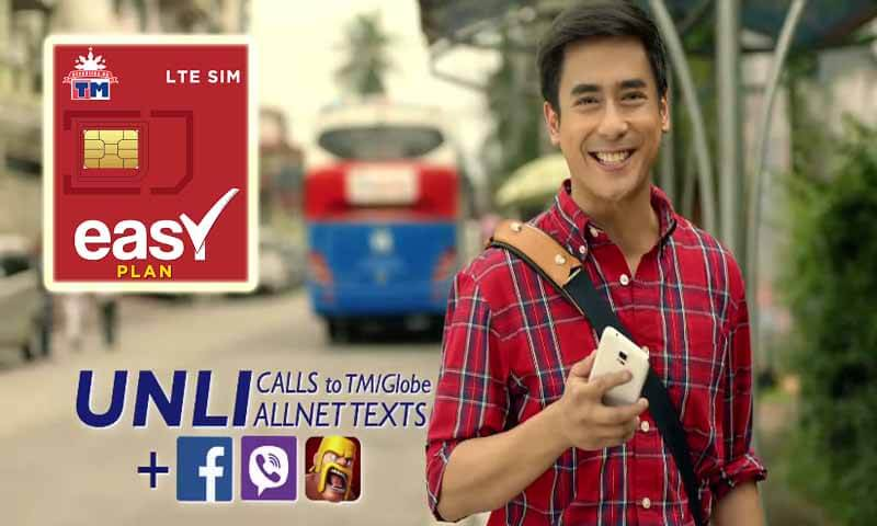 How to Apply TM Easy Plan 150 with Unlimited Call,Text and Free FB