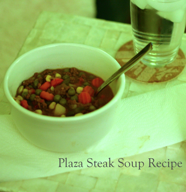 Plaza steak soup recipe