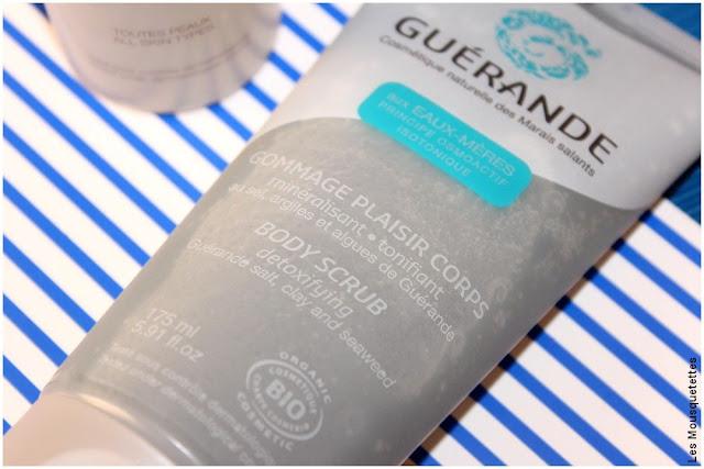 Guérande, cosmétique naturelle des Marais salants- Gommage corps - Blog beauté