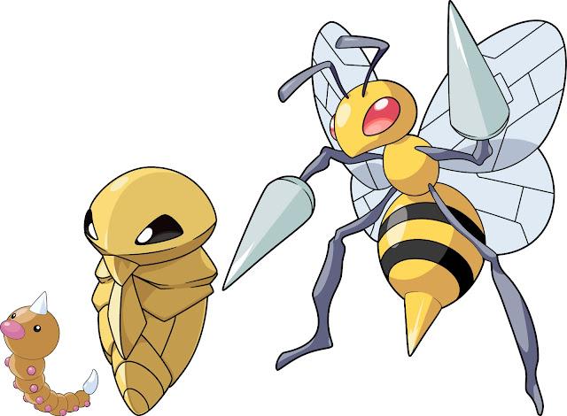 Karakter pokemon yang kelima adalah Caterpie