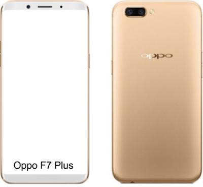 Spesifikasi  Oppo F7   Oppo F7 akan menjadi Android Phone pertama yang diluncurkan di India yang memiliki iPhone X seperti takik. Perangkat ini akan dikirimkan dengan fitur App-in-App yang memungkinkan pengguna menerima panggilan dan memainkan game secara bersamaan dengan layar terpisah yang menunjukkan umpan dari kedua aplikasi.  Detail lebih lanjut tentang spesifikasi ponsel berkenaan dengan detail dimensi dan harga akan tersedia hanya setelah peluncuran tetapi tetap, kami memiliki beberapa berita tentang fitur lainnya. Oppo F7 akan didukung oleh pembaruan Android 8.0 Oreo . Sisi belakang akan memiliki kamera ganda keduanya dengan 16MP dan lampu kilat LED. Ini adalah ponsel SIM ganda di mana SIM nano didukung dan jaringan 2G / 3G / 4G dapat diakses dengan mode siaga ganda. Dua opsi RAM 6GB dan 8GB dengan penyimpanan internal 32 / 64GB dan 128 GB tersedia di perangkat bersama dengan slot microSD yang penyimpanannya dapat diperluas hingga 256 GB. Pilihan konektivitas seperti Wi-Fi, Bluetooth, GPS, port USB 2.0 dan port USB On-The-Go tersedia.  Sensor sidik jari yang dipasang di belakang, akselerometer, dan sensor jarak adalah opsi sensor. Perangkat ini didukung oleh baterai 3400 mAh yang tidak dapat dilepas dan perangkat ini hadir dengan 3 pilihan warna Emas, Hitam, dan Merah.    Kelebihan   Layar lebar 5.7 Inchi yang dapat memberikan kenyamanan pada saat  mengoperasikannya. Paparan panel Super AMOLED yang dapat menghasilakan kontras warna yang lebih jelas dan tajam Perlindungan terhadap layarnya sangat kokoh bermodalkan Corning Gorilla Glass 5. Dibekali dengan Fitur Ultra Sonic FIngerprint sensor untuk dapat melindungi keamanannya data pribadi yang tersimpan di smartphone tersebut. Support dengan jaringan 4G, sehingga anda bisa puas untuk mengakses internet. Sistem operasi di bekali dengan OS Android v7.0 Nougat yang merupakan versi terbaru. Kapasitas RAM 6 GB yang cukup besar dan bisa membuat ngegame anda tambah puas. Memori internal 64 GB yang terbilang cukup leg