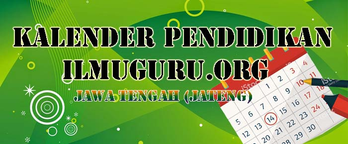 Kalender Pendidikan Jawa Tengah