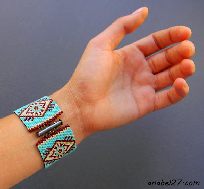 этническая бижутерия ручной работы браслеты манжеты плоские