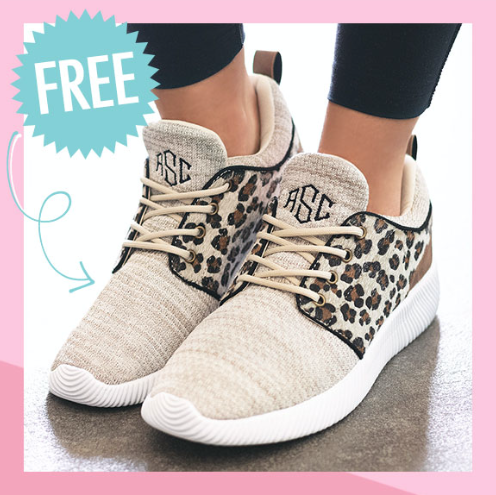 sneaker styles with leopard design