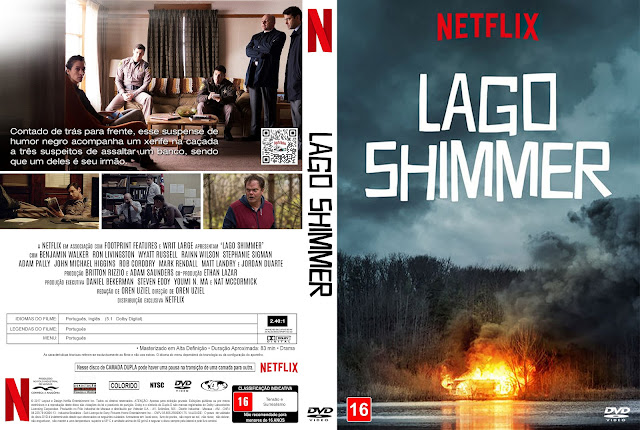 Capa DVD Lago Shimmer [Custom]