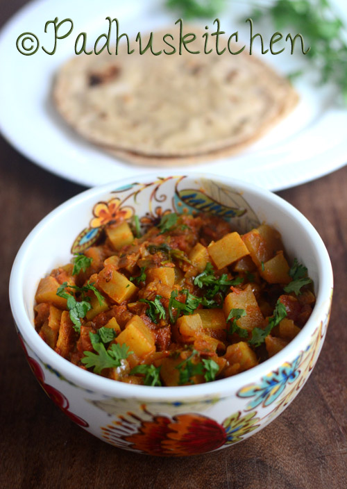 Turnip Curry-Shalgam Ki Sabzi