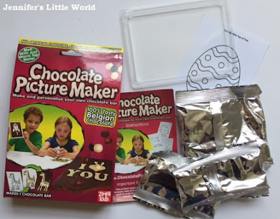 Review - Chocolate Picture Maker set for children