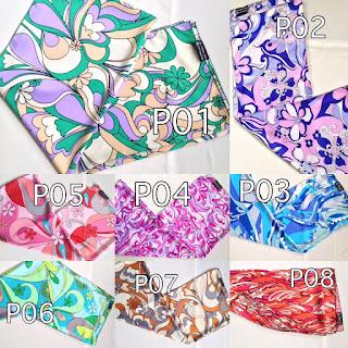 Printed Shawl dengan berbagai warna dan corak pilihan