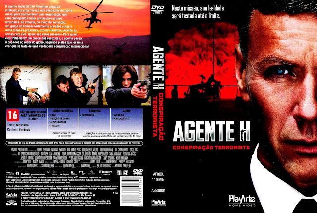Capa DVD Agente H - Conspiração Terrorista
