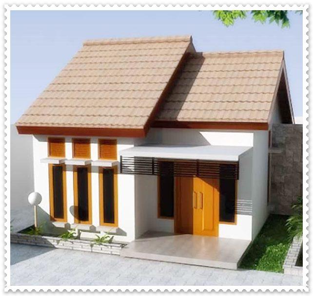 gambar denah rumah minimalis sederhana 1 lantai