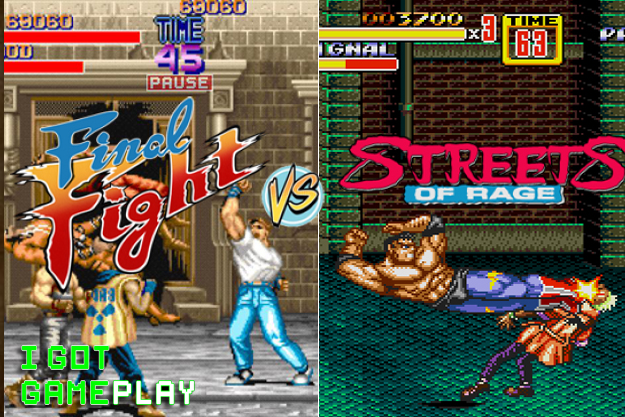 Let's Play Final Fight and Streets of Rage Game Walkthrough