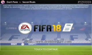 FTS Mod FIFA 18 by Haikal Apk + Data Obb