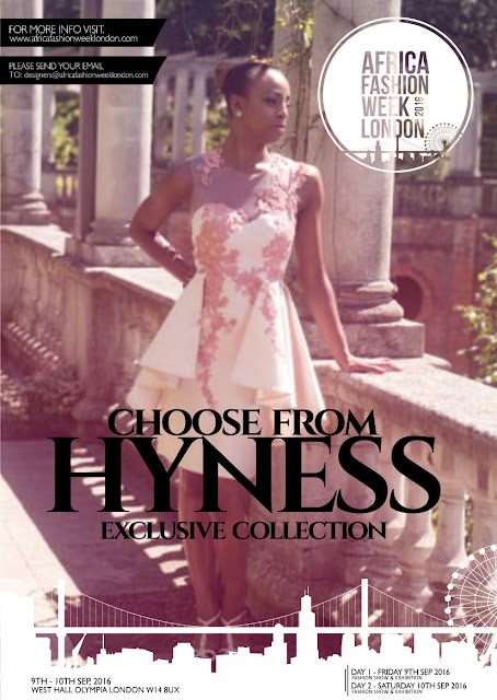 Hyness to showcase at AFRICA FASHION WEEK 2016