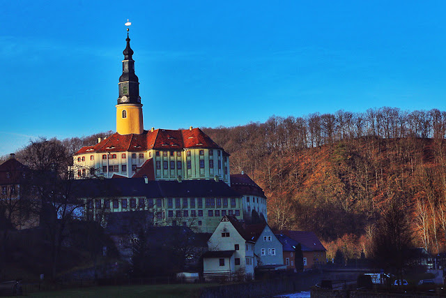 Weesenstein Castle scholoss saxony germany
