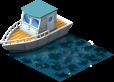 mun fishingboat PKDX 1 - Materiais para a Zona de Pesca no CityVille !