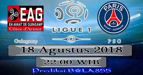 Prediksi Bola855 Guingamp vs Paris Saint Germain 18 Agustus 2018
