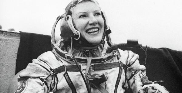 russian female astronaut in space - photo #15