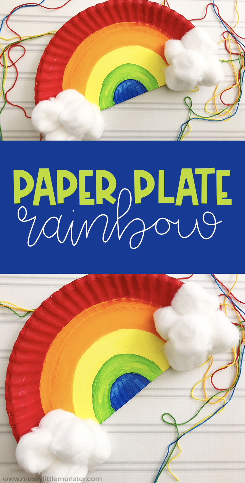 Paper Plate Rainbow Craft for Toddlers and Preschoolers ...
