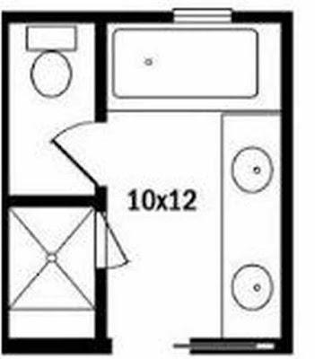 10 X 12 Bathroom Layout Ideas