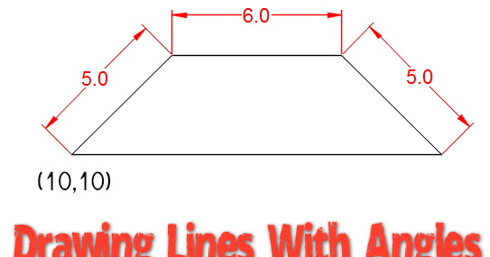 Drawing Lines With Angles In Autocad : Drawing lines with angles autocad tips