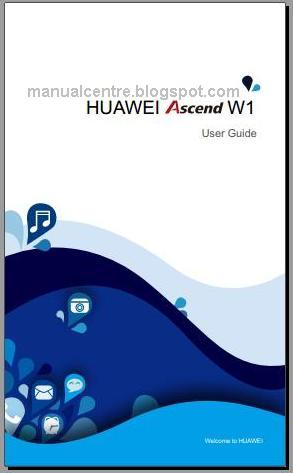 Huawei Ascend W1 Manual Cover