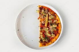 El anuncio de vidal: la mitad de una pizza